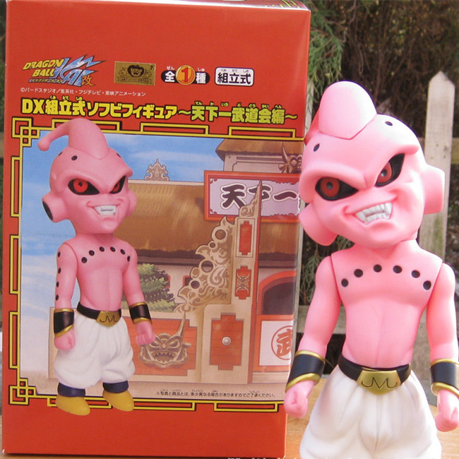 Dragon Ball Z Majin Buu PVC Action Figures Collection Model Toy Doll Free Shipping 18CM Anime Toys(China (Mainland))