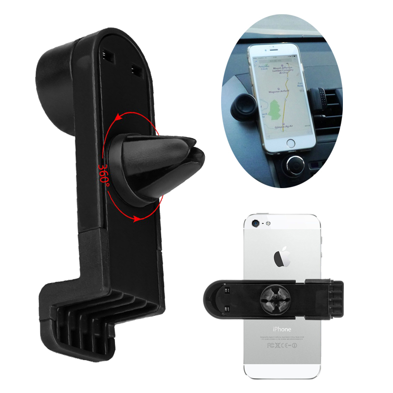 Car Holder Air Vent Mount for GPS Suporte Para Celular for Fly Thunder 5 IQ4413/ Blade IQ4516/ Fly Iris IQ4400 Stand Support(China (Mainland))
