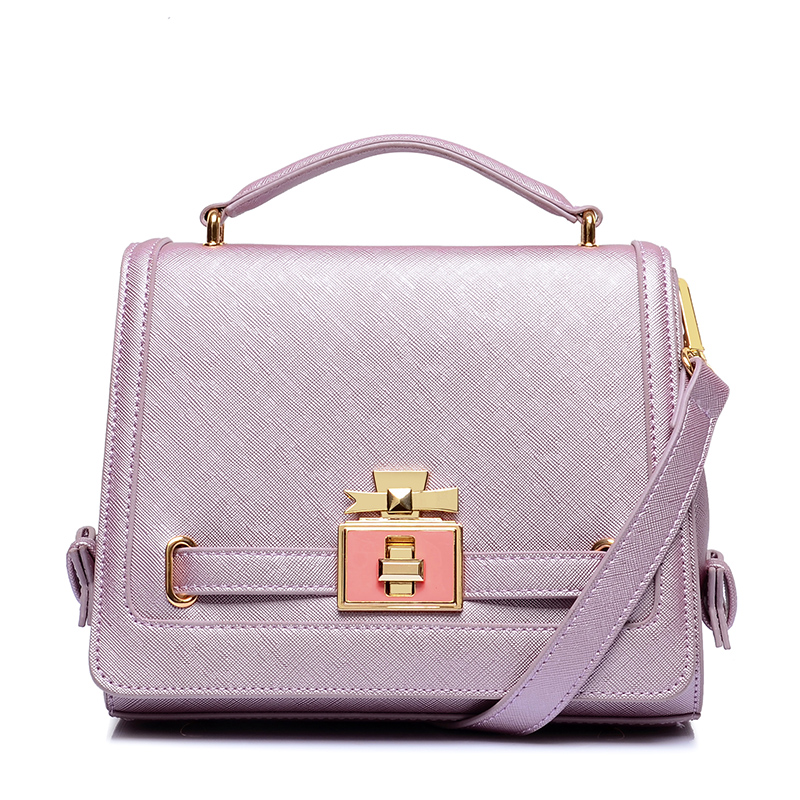 Women's handbag 2016 spring and summer perfume lockbutton female bags pearl bow bag handbag messenger bag