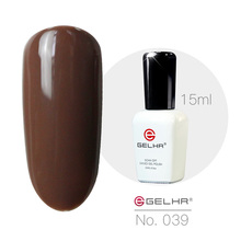 Buy GELHR Gel Nail Polish Long-Lasting Soak-Off Led UV Gel Lacquer Color Gel 039 Coffee Color 15ml Nail Gel Manicure Varnish for $2.40 in AliExpress store