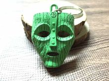 Movie Son of the Mask 2 Keychain the Mask 3D Metal Key Chain Men Keyring Boy Gifts Fashion Jewelry