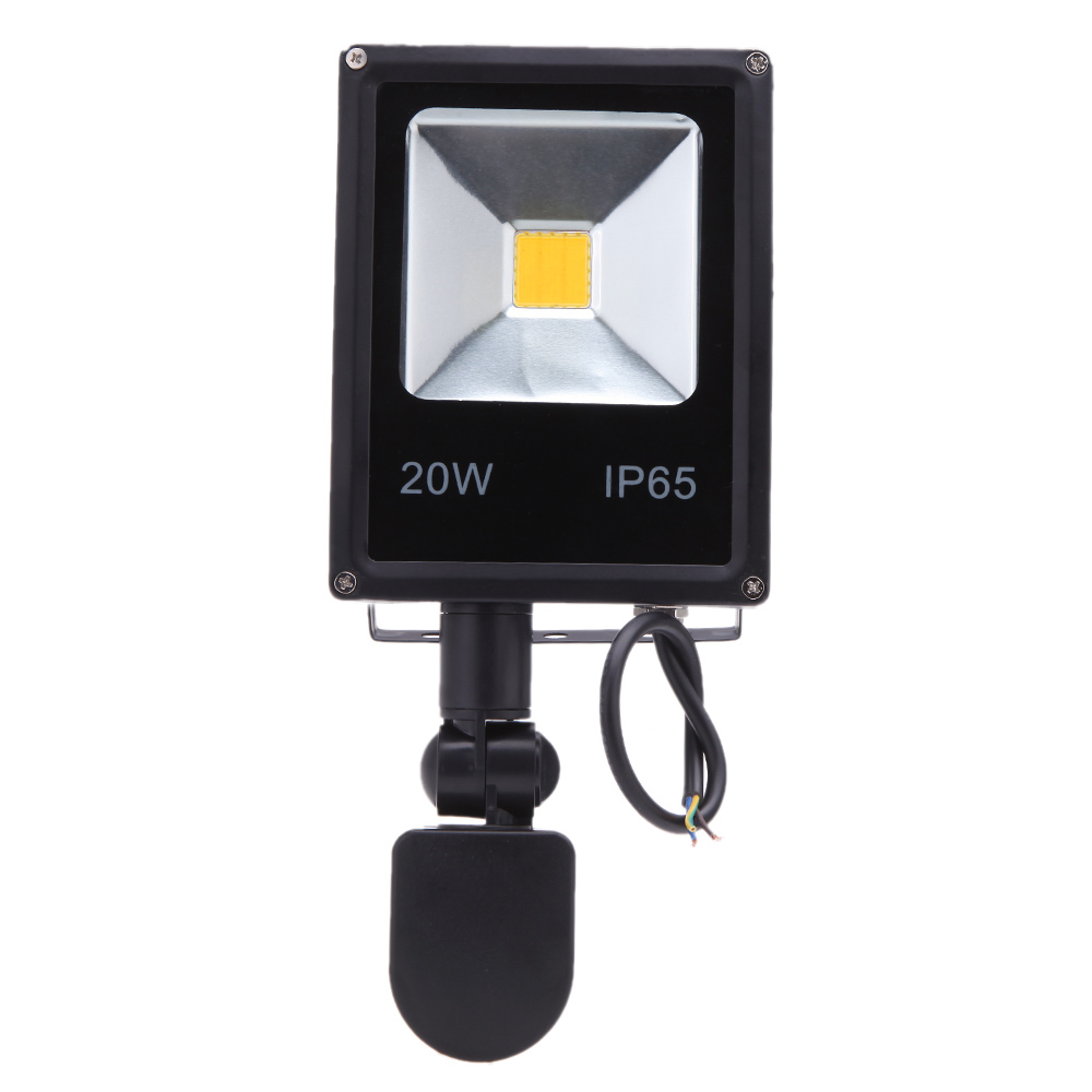 30w 50w pir motion sensor floodlight induction sense led flood light. Black Bedroom Furniture Sets. Home Design Ideas