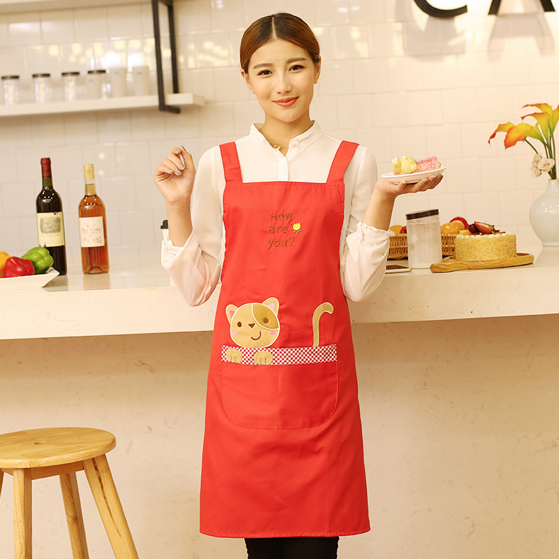 Special Offer bib apron Slanting Stripe Sleeveless fashion cute apron kitchen cooking Adult Work wear overall(China (Mainland))
