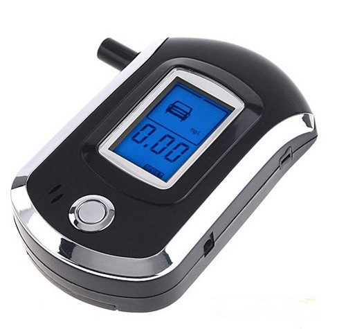 Digital Alcohol Breathalyzer Breath Tester LCD Breathalizer Tester Device Machine(China (Mainland))