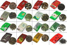 24 Different Flavor Famous Tea, Chinese Tea,including Black Tea,Green Tea,Puerh,Oolong,Tieguanyin,Jasmine Tea,M01, Free Shipping