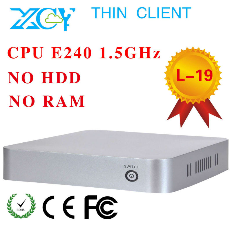 thin client pc share,fanless mini pc,zero client,L19,support touch screen,low price!(China (Mainland))