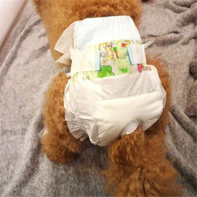 5 unids/lote Súper Absorbente Sanitarias Pantalones Fisiológicos Desechables Femenina gato/perro del pañal(China (Mainland))