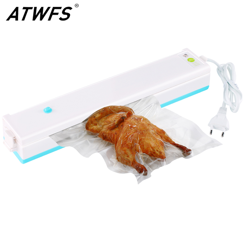 Vacuum Sealer Packer Home Food Saver Plastic Vacuum Packaging Machine Including 15pcs Bags(China (Mainland))