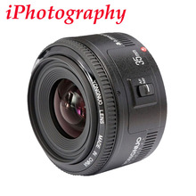 Yongnuo 35mm lens YN35mm F2 lens Wide-angle Large Aperture Fixed Auto Focus Lens For canon EF Mount EOS Cameras(China (Mainland))