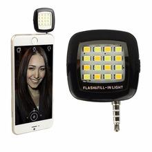 2016 горячей новая камера вспышка света из светодиодов для Selfie камеры мобильного сделано в китае, Для android-ios(China (Mainland))