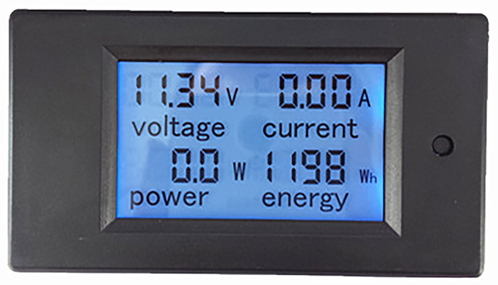 DC 6.5-100V 0-100A LCD Display Digital Current Voltage Power Energy Meter Multimeter Ammeter Voltmeter with 100A Current Shunt(China (Mainland))