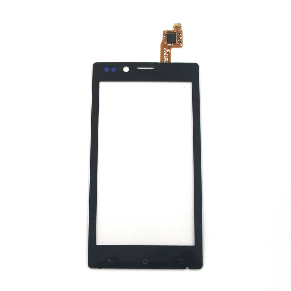 Replacement Touch Screen Digitizer For Sony Xperia J ST26i ST26a ST26 Black Free Shipping Other color leave a message