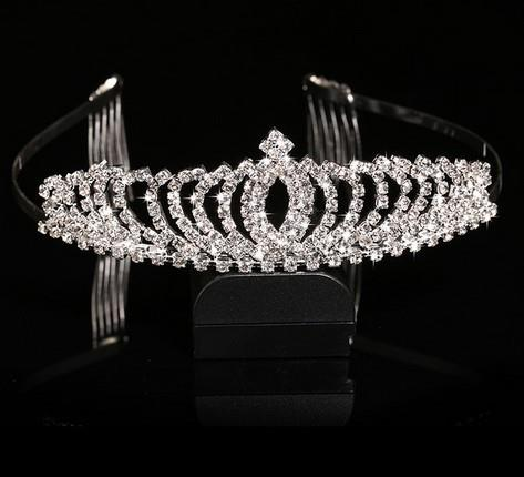 2015 Time-limited New Trendy Tiaras Bridal Hair Accessories Crown, Bridal Accessories Hair Bands Upscale Exquisite Novel, Crown(China (Mainland))