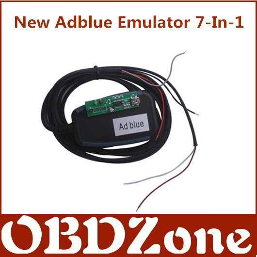 New Adblue Emulator 7 In 1 For Mercedes-Benz, MAN, Scania, Iveco, Volvo, DAF, Renault trucks(China (Mainland))