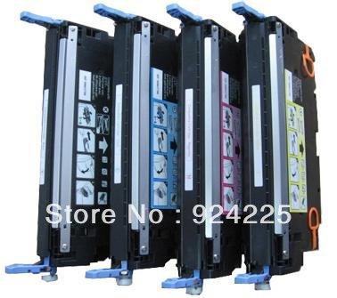 Картридж для принтера C,K,M,Y Q2670A Q2671A Q2672A Q2673A HP 3500/3550/3700, 4 /lot Q2670A-Q2673A