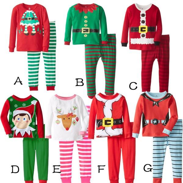 2PCS/0-5Years/Christmas Style Kids Tracksuit Cartoon Cute T-shirt+Pants Toddler Girls Boys Clothes Children Clothing Sets BC1345  HTB1ibO2KpXXXXbdXFXXq6xXFXXXb