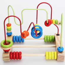 Baby Toys Classic Toy Wooden Bead Maze Child Beads Educational Toys High Quality Toys Paradise Child Birthday Gift(China (Mainland))