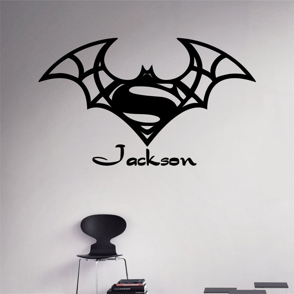 sticker batman promotion achetez des sticker batman promotionnels sur alibaba group. Black Bedroom Furniture Sets. Home Design Ideas