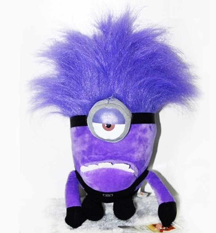 Despicable me 2 purple minions toys galleryhip com the hippest