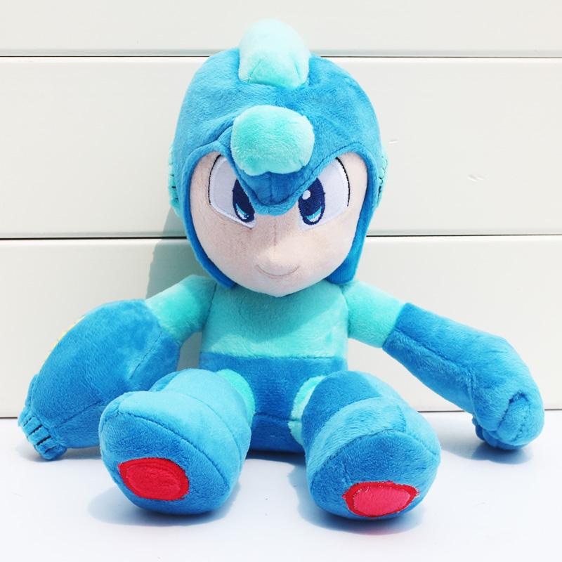 Movie Megaman Rockman Plush Doll Toys Soft Stuffed Children Gifts 26cm<br><br>Aliexpress