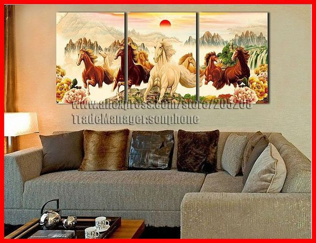Charming Feng Shui Wall Art For Living Room Nakicphotography
