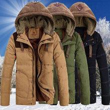 Parka Chaqueta Hombre Napapijri Cotton Turn-down Collar Hot New Winter 2015 Men's Jacket Slim Large Size Jackets Thick Down Men