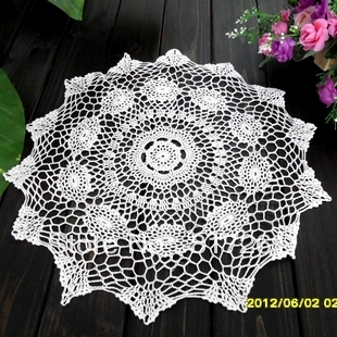 2015 new ZAKKA fashion design cotton crochet lace table cover cushion ...