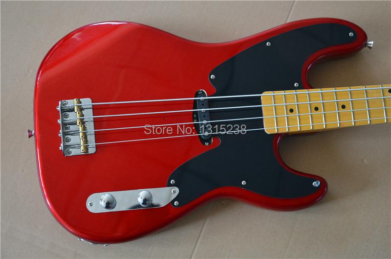 Free Shipping New guitarra bass guitar shop OEM red electric guitar guitarra / guitar China(China (Mainland))