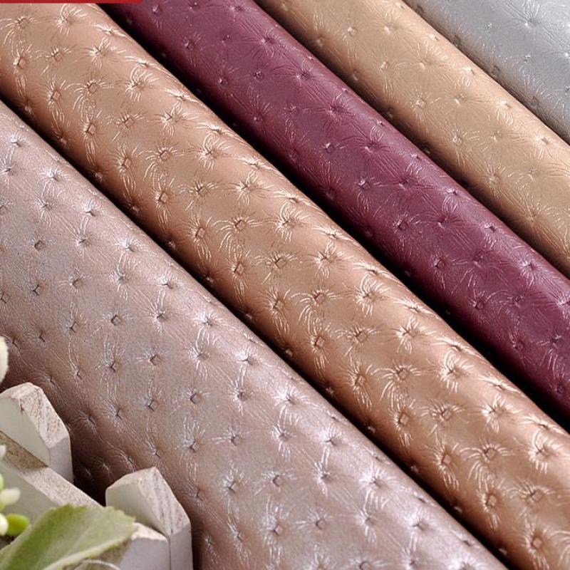 50x135cm Pvc Leather Waterproof Material,eco Leather Automotive Fabric,costura Seat Upholstery Fabric Tela Para Mueble Chuteiras(China (Mainland))