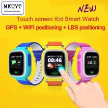 Бесплатная Доставка Q90 GPS Позиционирование Телефона Мода Дети Часы 1.22 Дюймов Цветной Сенсорный Экран WI-FI SOS Smart Watch(China (Mainland))