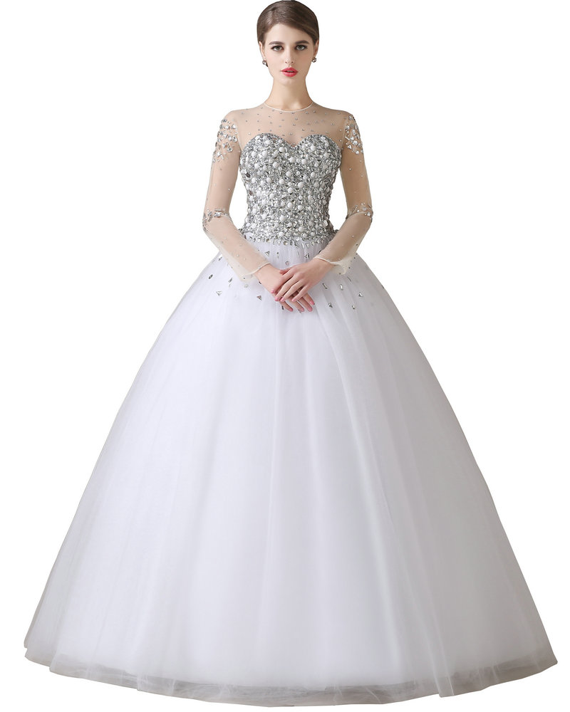 Us wedding dresses sale cheap wedding dresses for Wedding dresses with sleeves for sale