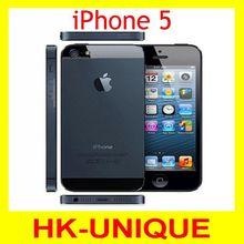 Оригинального Apple iPhone 5 смартфон iOS ос двухъядерный 1 г оперативной памяти 16 ГБ 32 ГБ 64 ГБ ROM 4.0 дюймов 8MP камера wi-fi GPS 3 г сотовый телефон(China (Mainland))