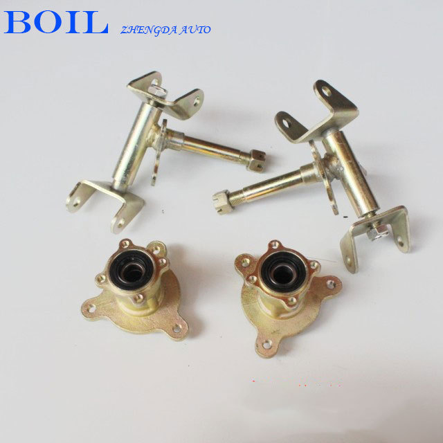 Modification of a small four wheel atv small bull claw steering knuckle rotating body rim(China (Mainland))