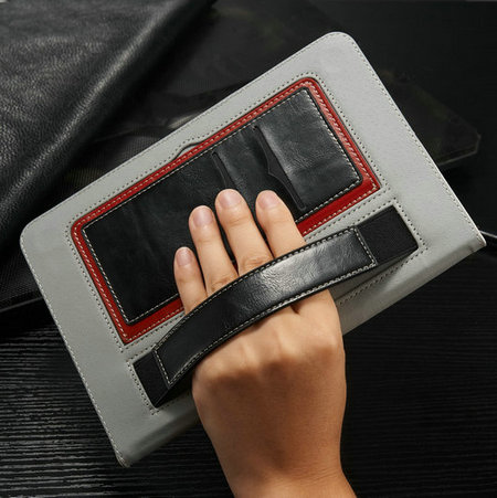 New arrival PU Leather Case For iPad 2 3 4 New products Mutifunctional Wallet Case For iPad 2 /3/4 with Arm Band Design(China (Mainland))