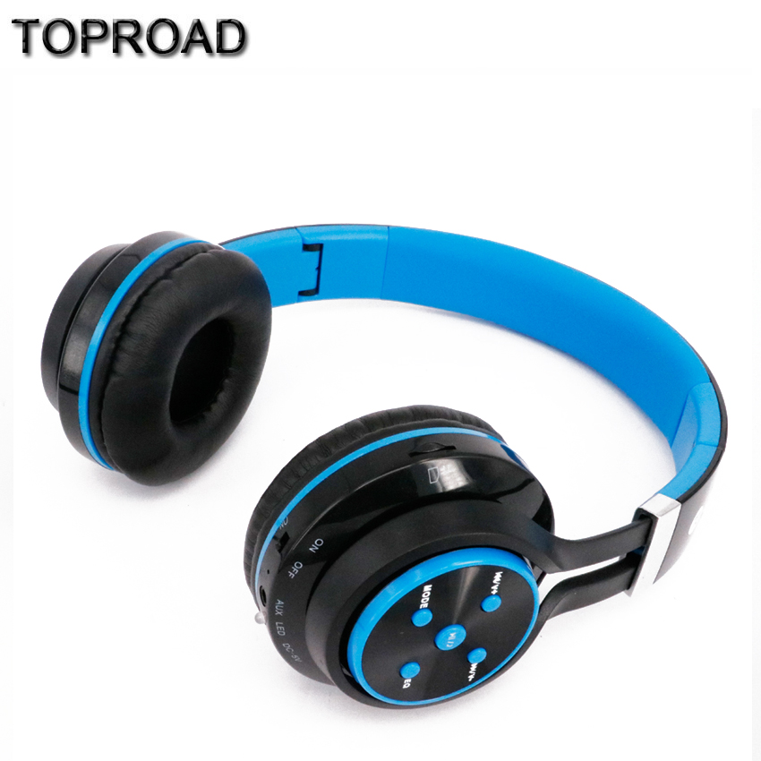 Portable Wireless Bluetooth Headphone Stereo Audio Headset Subwoofer Earphone Support FM Radio TF Card For Phone Tablet Pad PC(China (Mainland))