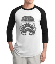 Buy hot sale Star Wars Jedi knight men t shirt 2017 summer hot sale 3/4 sleeve men t shirts 100% cotton high raglan t-shirts for $7.39 in AliExpress store