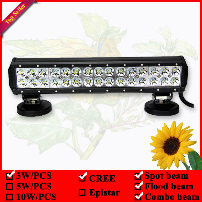 "15"" 14Inch CREE 90W 7000lm Spot Flood Combo LED Work Light Bar Offroad Truck 4WD led driving light bar(China (Mainland))"
