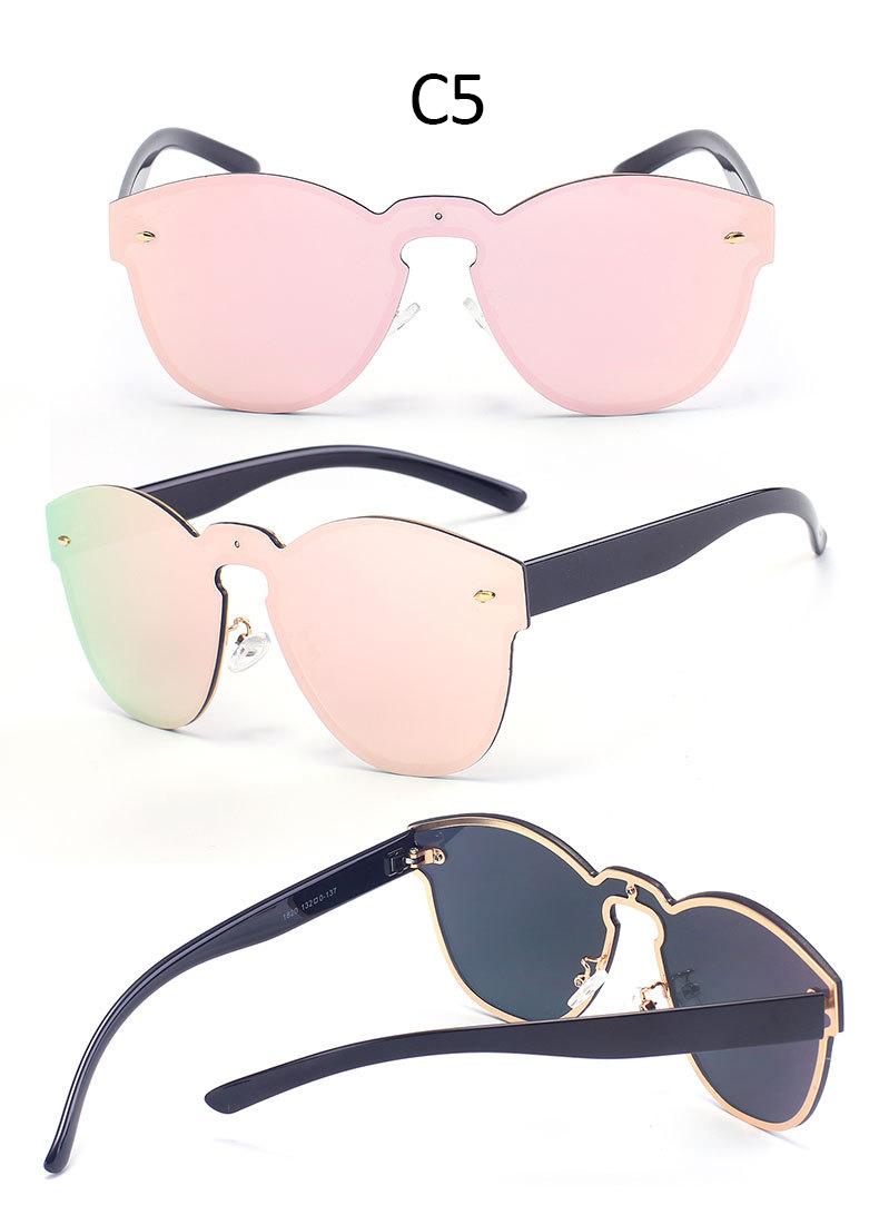 Rimless Glasses Singapore : Rimless Metal Frame Fashion Cat Eye Sunglasses Women Brand ...