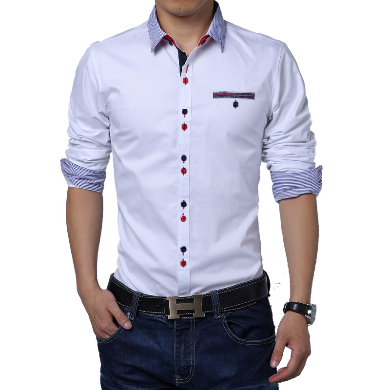 2014 sale free shipping new mens shirts