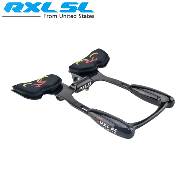 RXL SL TT handlebar Carbon Rest Bar TT Rest Handlebar Road Bike TT Time Triathlon Handlebar 31.8mm 3K Glossy JL6601(China (Mainland))