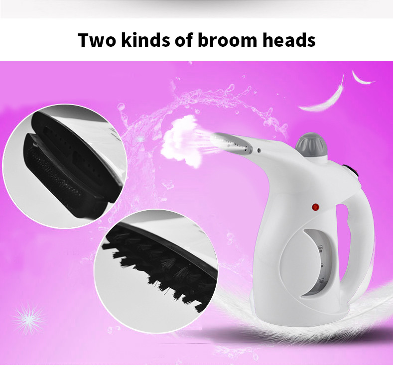 Portable iron clothes steamer Mini Handled Garment Steamer Clothes dryer Pure Steam Fabric Steamer high quality free shipping