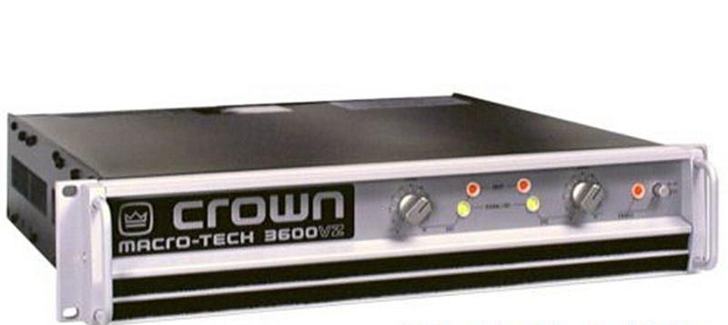 Super Order!!!Professional Audio AMP CROWN MA-3600VZ Macro-Tech Series Power Amplifier 1800W-2 Ohms, 1565W-4 Ohms(China (Mainland))