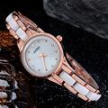 KIMIO Fashion Brand Women Rhinestone Quartz Watch Waterproof Bracelet Watch Alloy Band Casual Ladies Wristwatch Relogio