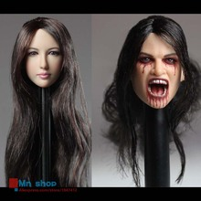 ZYTOYS 1/6 Female Head Sculpt Zhu Xian Beauty Head Carving Vampire Headplay for 12″ Collectible Action Figure Dolls Toys