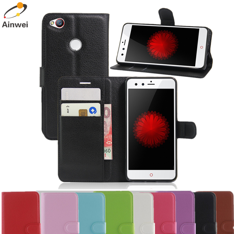 Hot Selling Case For ZTE nubia Z11 mini Case Luxury Wallet Flip PU Leather Cell Phone Back Cover For ZTE nubia Z11 mini(China (Mainland))