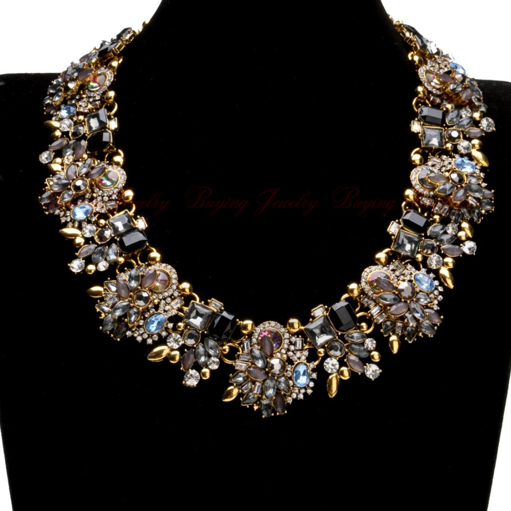 Buy za vintage retro gold silver chain for Buying jewelry on aliexpress