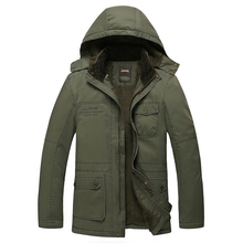 2015 Real Turn-down Collar Down Slim Zipper 90% Jacket Men Chaqueta Hombre Hot Winter Men's Cotton Thick Warm Coat And Sections