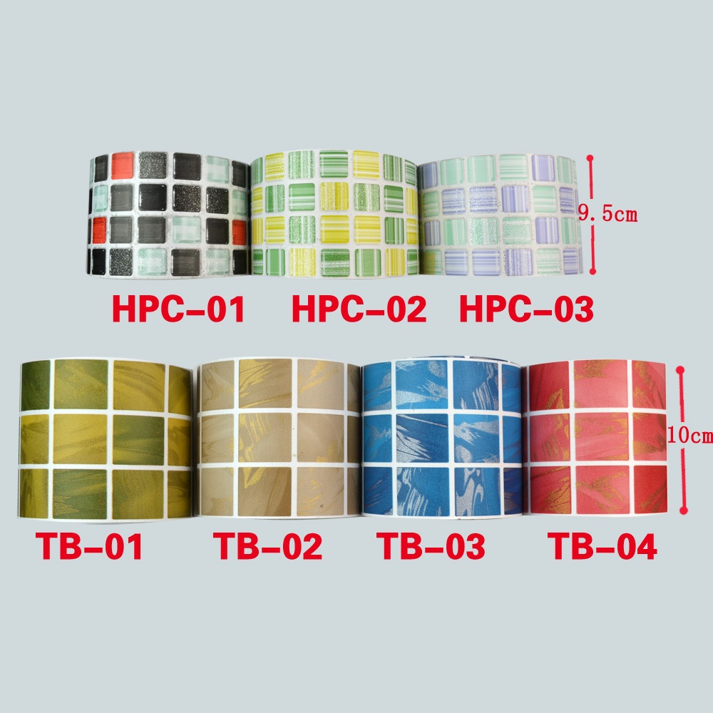 PVC Waist line wall sticker bathroom kitchen waterproof wall borders mosaic tile 3D Vinyl plastic Self Adhesive Wallpaper border(China (Mainland))