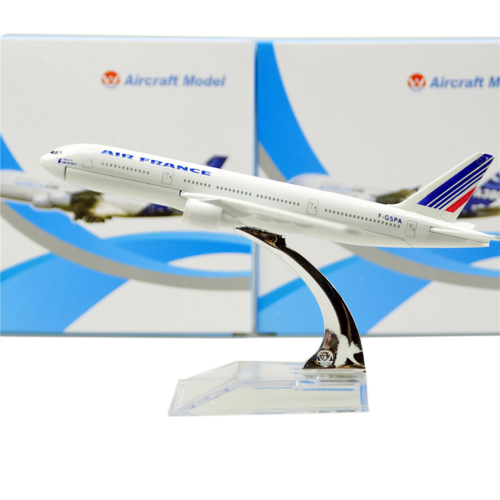 Air France Boeing 777 16cm model airplane kits child Birthday gift plane models toys Christmas gift(China (Mainland))