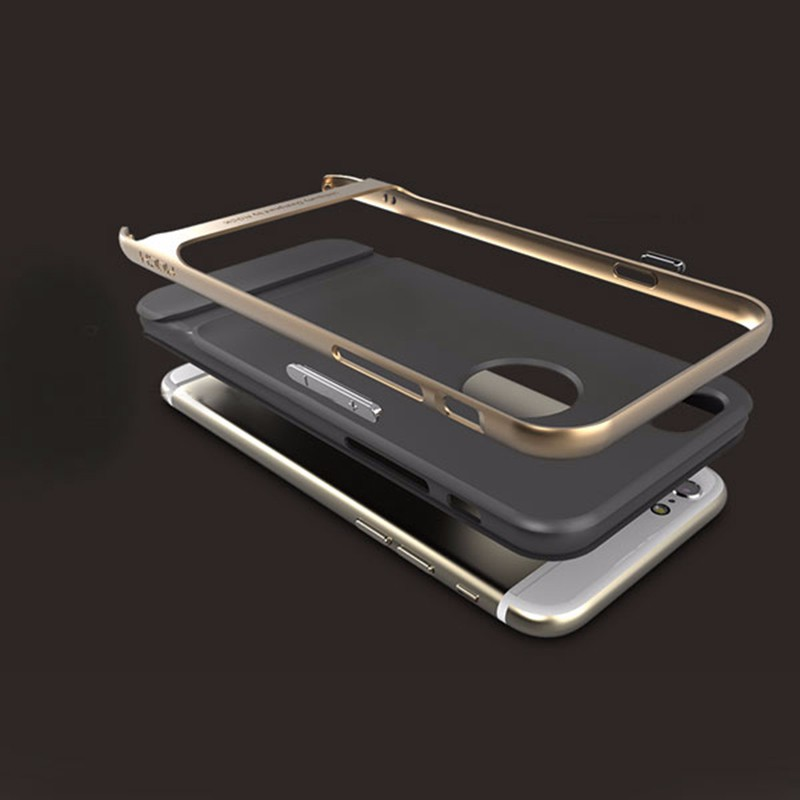Practical Ultra Thin Antiskid Protective Back Case Royce Series Cover for iPhone 5 5S SE 6 6 Plus 6S 6S Plus Slim Armor Cover